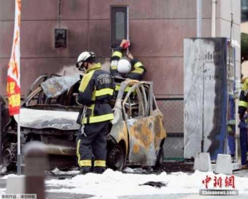 日本宇都宫市发生连环爆炸 前自卫队员?#33489;?#36523;亡