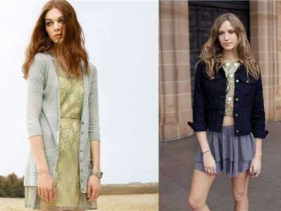 女士开衫针织衫搭配 针织衫外套开衫女?#25353;?#37197;技巧