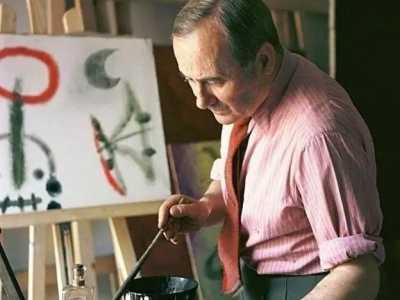 米羅的畫 一生只像孩子那樣畫畫