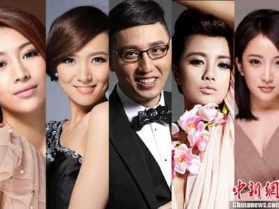 女主播温雅 华少领衔主持浙江卫视跨年晚会