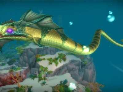 魔兽世界潘达利亚海怪 艾泽拉斯物种无奇不有